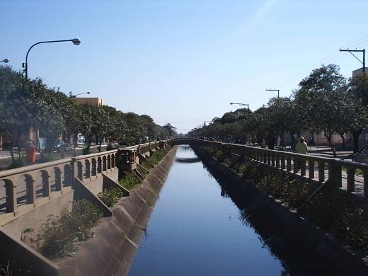 Vista central canalete