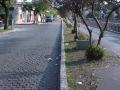 Rua a beira do canalete