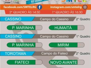 5a9e351256224 ... Esporte e Lazer (SMTEL), divulgou os resultados dos jogos das semifinal  do Campeonato Amador de Futebol. Confira abaixo os resultados ...