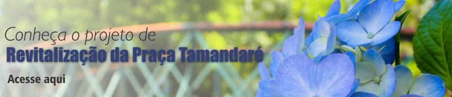 Prefeitura divulga planejamento da revitalização da Praça Tamandaré