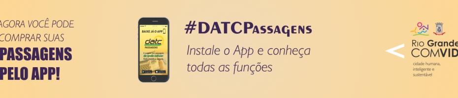DATC lança aplicativo para compra de passagens intermunicipais