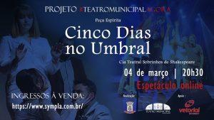#teatromunicipalagora: Boa opção de entretenimento neste momento de Bandeira Preta